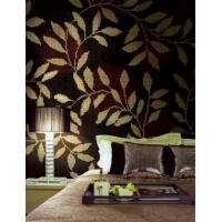 Wholesale Dark Red Wall with branch Pattern for study room decoration from china suppliers