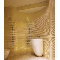 Wholesale Ultimate luxury design for commercail hotel gold color mosaic tile from china suppliers