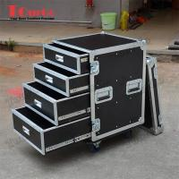 Wholesale TourGo Custom Large Production 12U Flight Case With 4 Drawer from china suppliers
