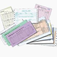 Wholesale factory made customized Invoice printing, note pad printing from china suppliers