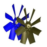 Buy cheap Plastic Hub Axial Flow Fans from wholesalers
