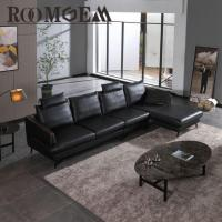 Wholesale Modern Black Leather Couch from china suppliers