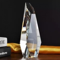 Great Honour Brilliant Business award faceted mountain crystal trophy $15.49 to $18.33