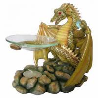 Polyresin dragons images images of polyresin dragons - Guarding dragon accent table ...